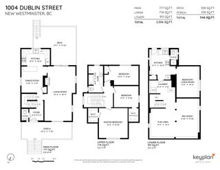 """Photo 2: 1004 DUBLIN Street in New Westminster: Moody Park House for sale in """"Moody Park"""" : MLS®# R2601230"""
