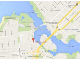"Photo 18: 502 1508 MARINER Walk in Vancouver: False Creek Condo for sale in ""MARINER POINT"" (Vancouver West)  : MLS®# V1069887"