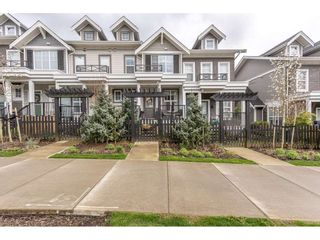 "Photo 1: 78 7169 208A Street in Langley: Willoughby Heights Townhouse for sale in ""Lattice"" : MLS®# R2564010"
