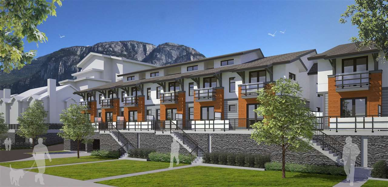 "Main Photo: 52 1188 MAIN Street in Squamish: Downtown SQ Townhouse for sale in ""SOLEIL AT COASTAL VILLAGE"" : MLS®# R2166715"
