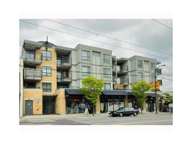 """Main Photo: 304 2741 E HASTINGS Street in Vancouver: Hastings East Condo for sale in """"THE RIVIERA"""" (Vancouver East)  : MLS®# V854945"""