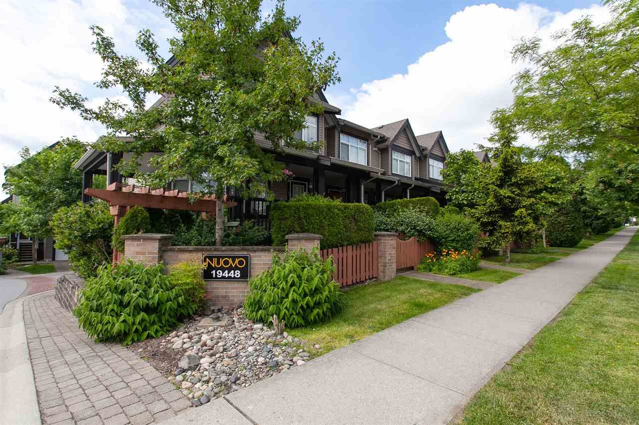 """Main Photo: 52 19448 68 Avenue in Surrey: Clayton Townhouse for sale in """"Nuovo"""" (Cloverdale)  : MLS®# R2274047"""