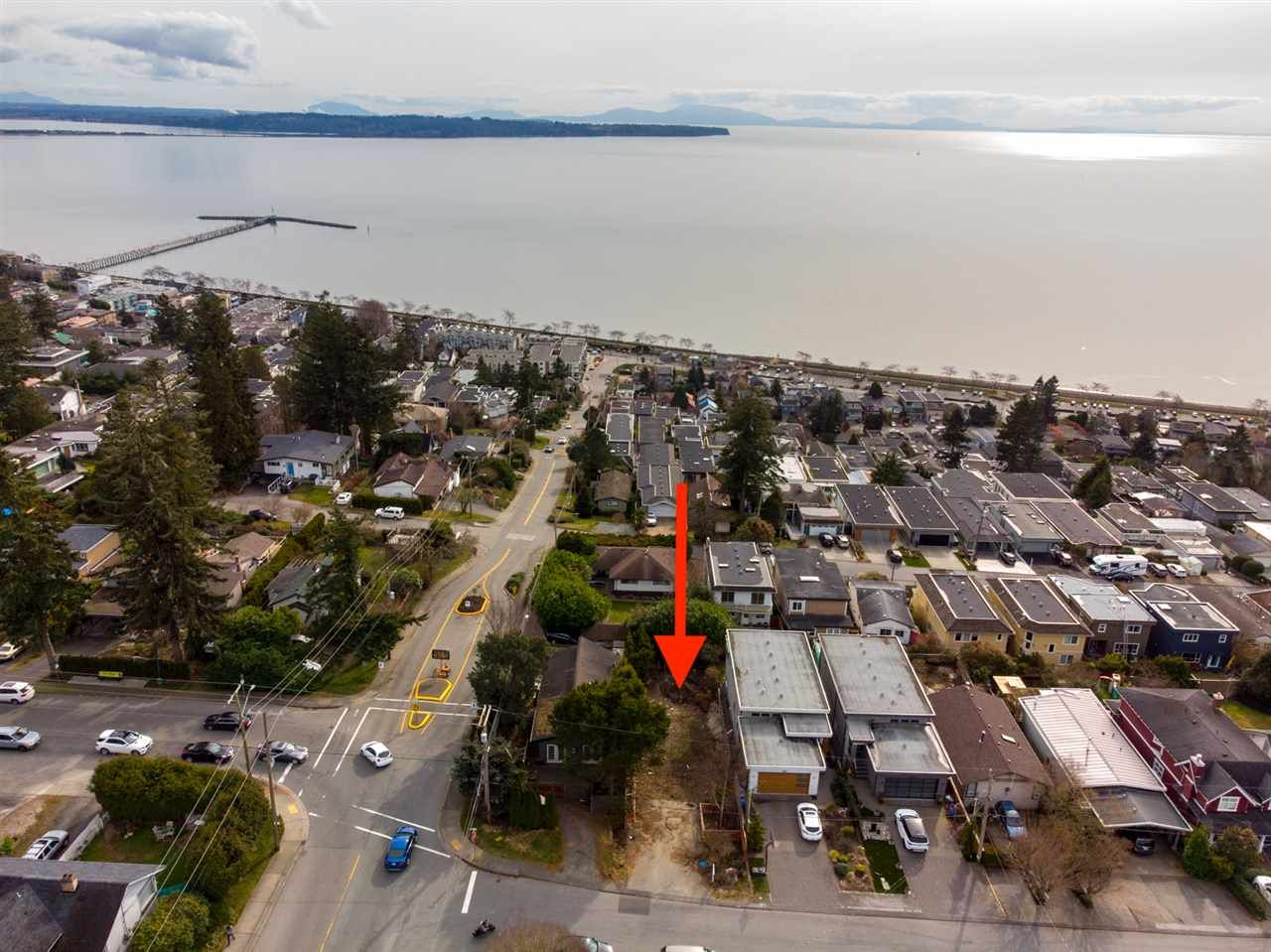 Main Photo: 14786 THRIFT Avenue: White Rock Land for sale (South Surrey White Rock)  : MLS®# R2542759