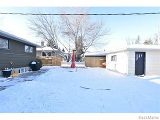 Photo 44: 3732 NORMANDY Avenue in Regina: River Heights Single Family Dwelling for sale (Regina Area 05)  : MLS®# 595664
