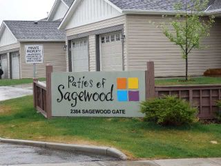 Photo 2: 602 2384 SAGEWOOD Gate SW: Airdrie Townhouse for sale : MLS®# C3569956