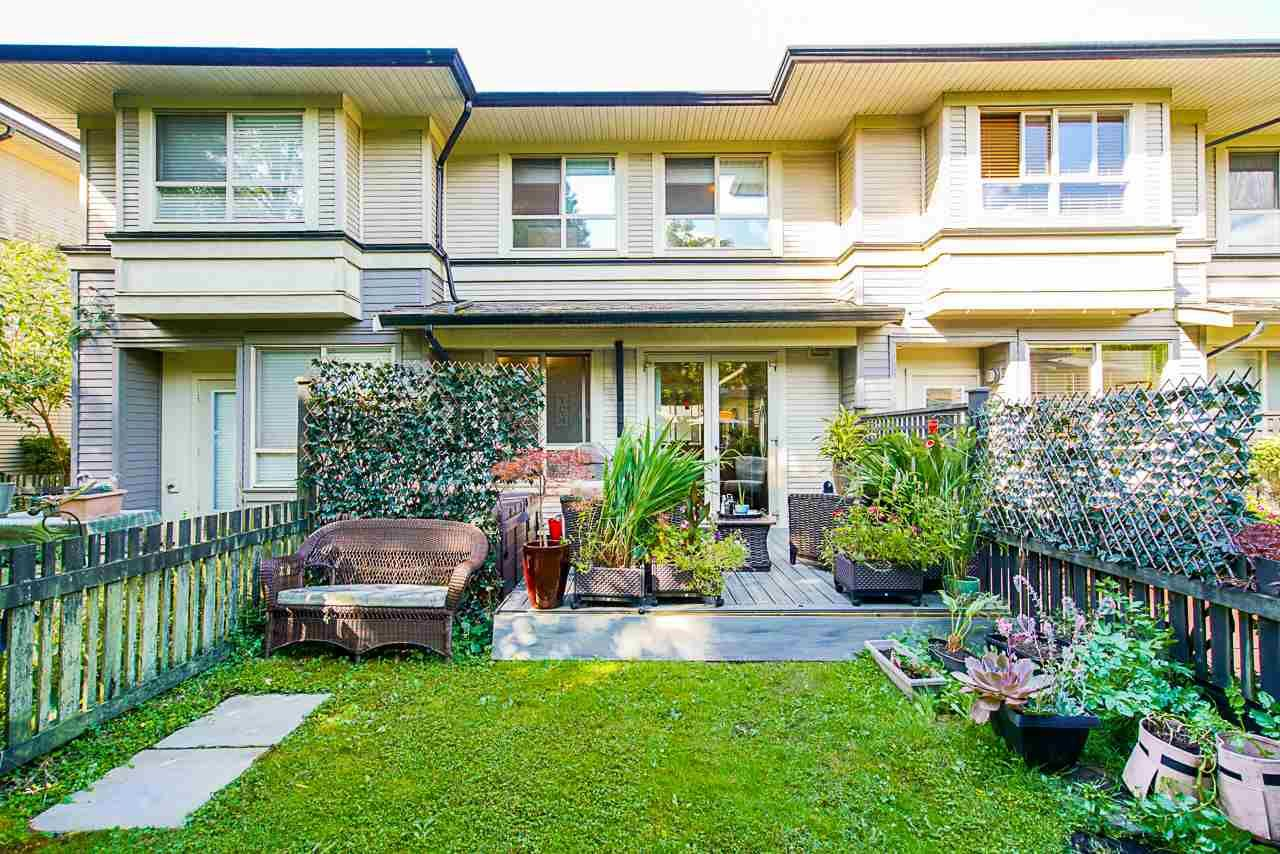 """Main Photo: 49 100 KLAHANIE Drive in Port Moody: Port Moody Centre Townhouse for sale in """"INDIGO"""" : MLS®# R2495389"""