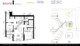 """Photo 22: 505 1495 RICHARDS Street in Vancouver: Yaletown Condo for sale in """"Azura Two"""" (Vancouver West)  : MLS®# R2616923"""