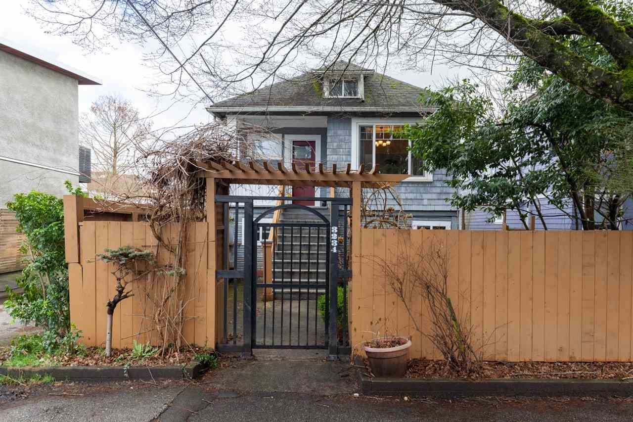 Main Photo: 3234 PRINCE EDWARD Street in Vancouver: Fraser VE House for sale (Vancouver East)  : MLS®# R2541850