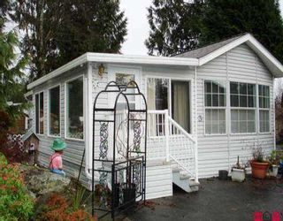 """Photo 1: 3 14600 MORRIS VALLEY RD in Mission: Lake Errock Manufactured Home for sale in """"Tapadera Estates"""" : MLS®# F2524801"""