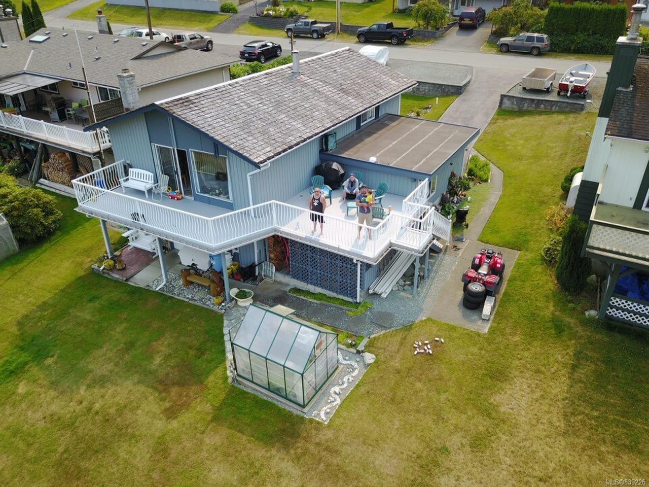Main Photo: 461 MacMillan Dr in SAYWARD: NI Kelsey Bay/Sayward House for sale (North Island)  : MLS®# 839226