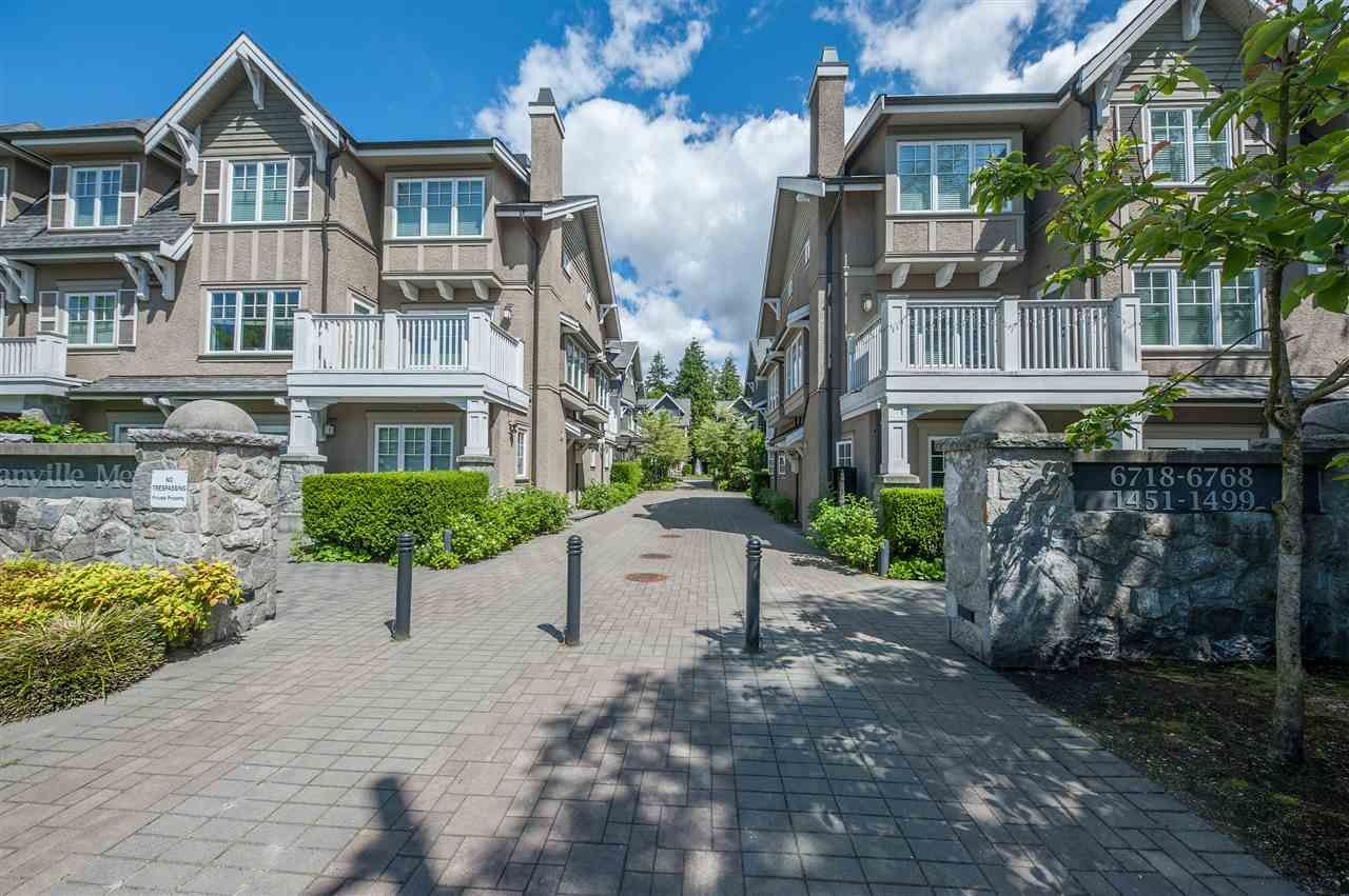 Main Photo: 1497 TILNEY MEWS in Vancouver: South Granville Townhouse for sale (Vancouver West)  : MLS®# R2523931