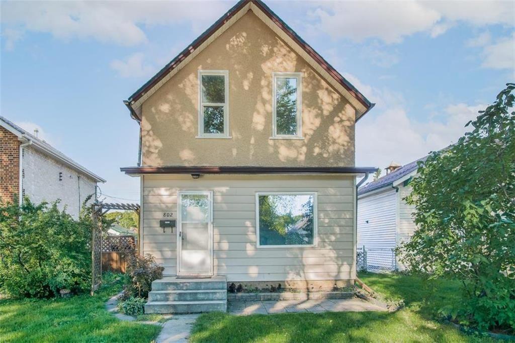 Main Photo: 802 Spruce Street in Winnipeg: West End Residential for sale (5C)  : MLS®# 202122213