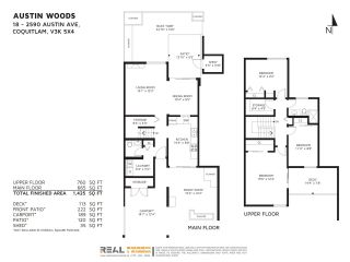 """Photo 20: 18 2590 AUSTIN Avenue in Coquitlam: Coquitlam East Townhouse for sale in """"AUSTIN WOODS"""" : MLS®# R2369041"""