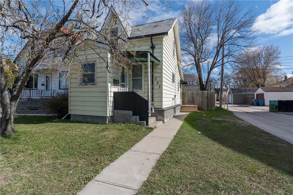 Main Photo: 305 Mountain Avenue in Winnipeg: North End Residential for sale (4C)  : MLS®# 202110789