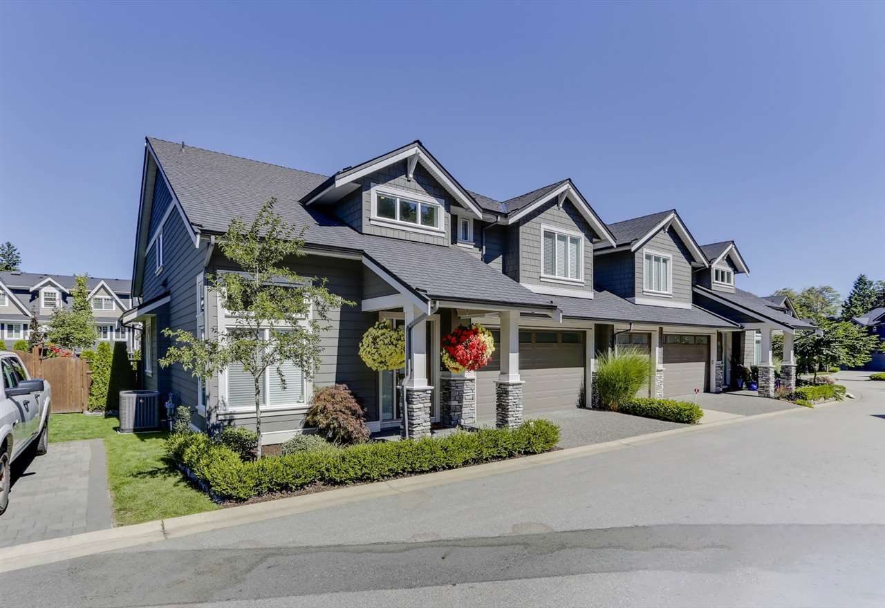 """Main Photo: 27 3103 160 Street in Surrey: Grandview Surrey Townhouse for sale in """"PRIMA"""" (South Surrey White Rock)  : MLS®# R2492808"""