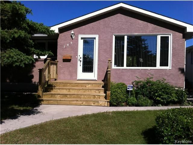 Main Photo: 784 Waverley Street in Winnipeg: River Heights South Residential for sale (1D)  : MLS®# 1617666