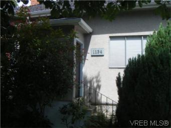 Main Photo: 1134 Pandora Ave in VICTORIA: Vi Central Park Triplex for sale (Victoria)  : MLS®# 543348