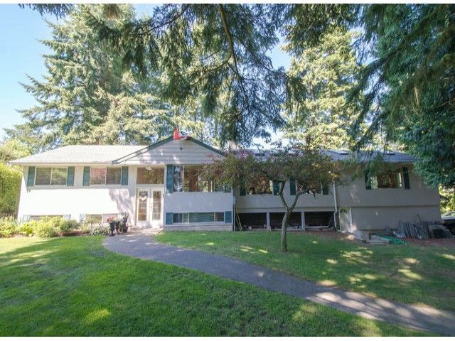 Main Photo: 13885 18TH Avenue in Surrey: Sunnyside Park Surrey House for sale (South Surrey White Rock)  : MLS®# F1431118