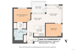 Photo 23: 1004 732 Cormorant St in : Vi Downtown Condo for sale (Victoria)  : MLS®# 887618
