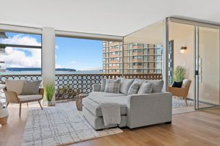 """Main Photo: 504 2135 ARGYLE Avenue in West Vancouver: Dundarave Condo for sale in """"The Crescent"""" : MLS®# R2626841"""