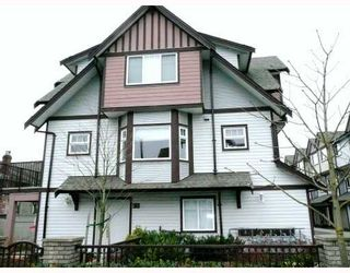 Photo 1: 12 7700 ABERCROMBIE Drive in Richmond: Brighouse South Townhouse for sale : MLS®# V703192