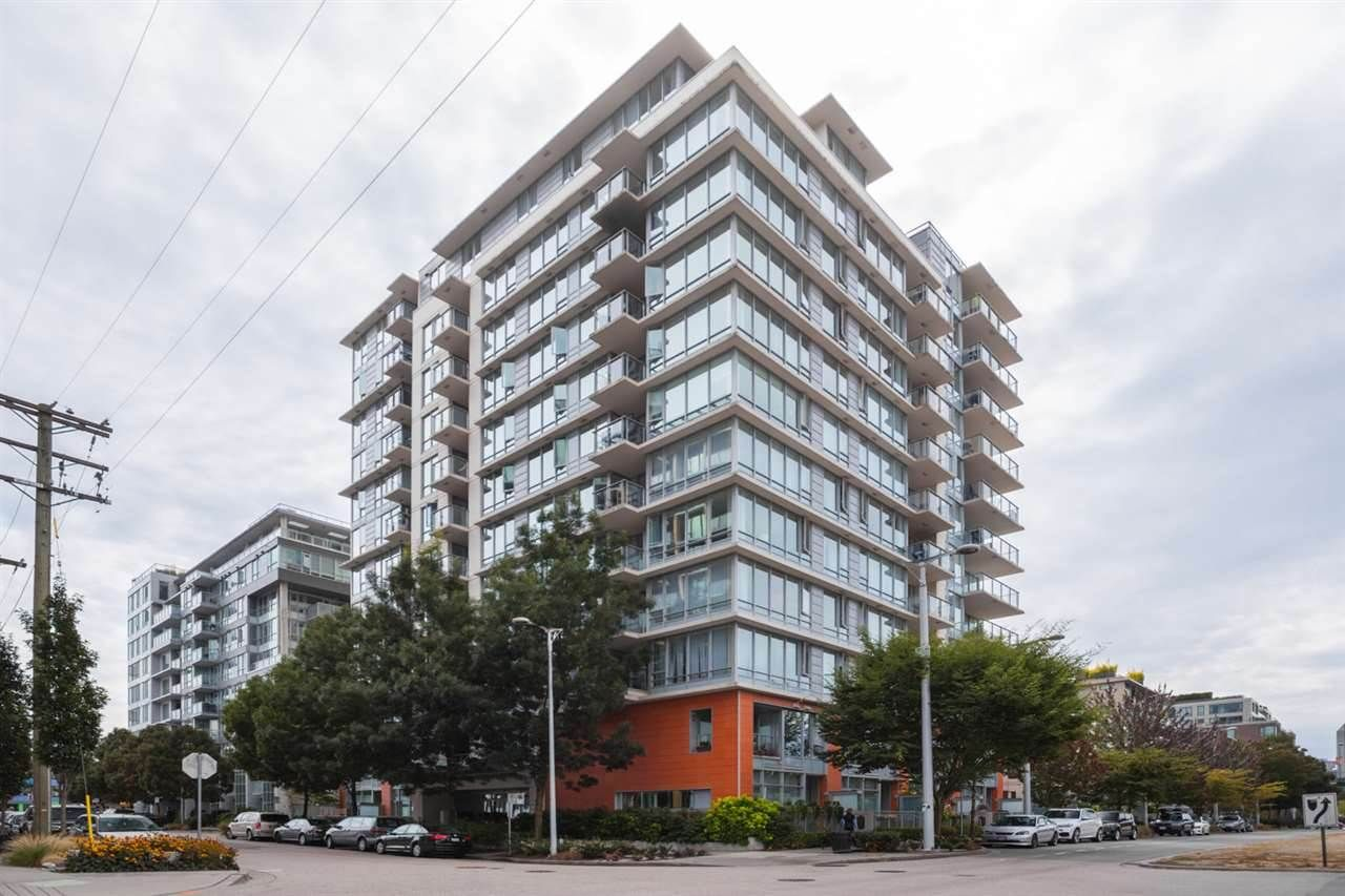 "Main Photo: 1008 1833 CROWE Street in Vancouver: False Creek Condo for sale in ""FOUNDRY"" (Vancouver West)  : MLS®# R2312867"