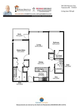 """Photo 12: 503 3263 PIERVIEW Crescent in Vancouver: South Marine Condo for sale in """"RHYTHM BY POLYGON"""" (Vancouver East)  : MLS®# R2558947"""