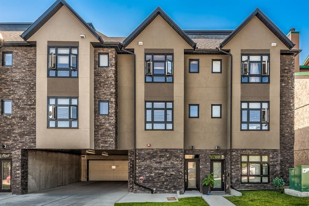 Main Photo: 1511 23 Avenue SW in Calgary: Bankview Row/Townhouse for sale : MLS®# A1139780