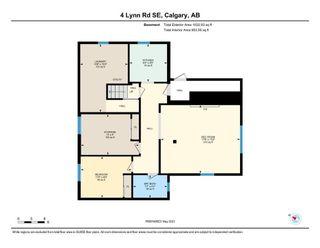 Photo 34: 4 Lynn Road SE in Calgary: Ogden Detached for sale : MLS®# A1113660