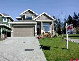 Main Photo: 3568 ROSEMARY HTS CR in Surrey: Morgan Creek House for sale (South Surrey White Rock)  : MLS®# F2507617