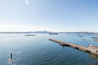 "Photo 1: 901 185 VICTORY SHIP Way in North Vancouver: Lower Lonsdale Condo for sale in ""CASCADE EAST AT THE PIER"" : MLS®# R2518782"