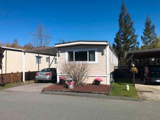 "Photo 1: 47 3300 HORN Street in Abbotsford: Central Abbotsford Manufactured Home for sale in ""GEORGIAN PARK"" : MLS®# R2564322"