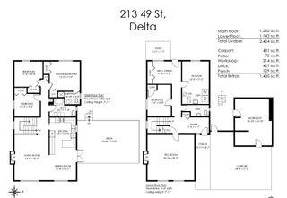 Photo 33: 213 49 Street in Delta: Pebble Hill House for sale (Tsawwassen)  : MLS®# R2612603