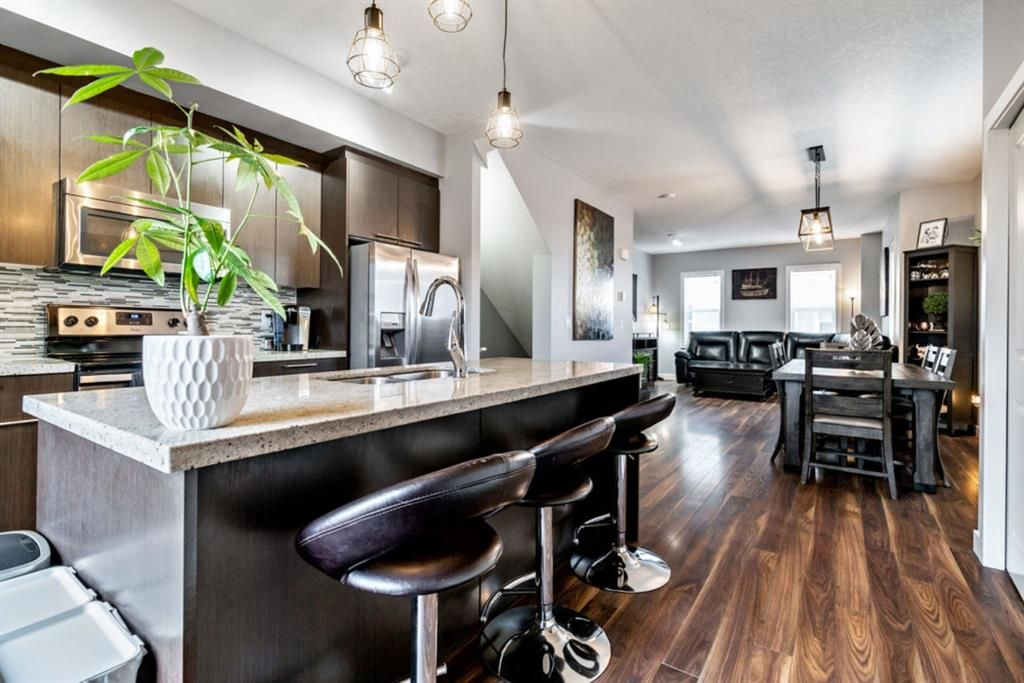 Main Photo: 359 Silverado Common SW in Calgary: Silverado Row/Townhouse for sale : MLS®# A1079481