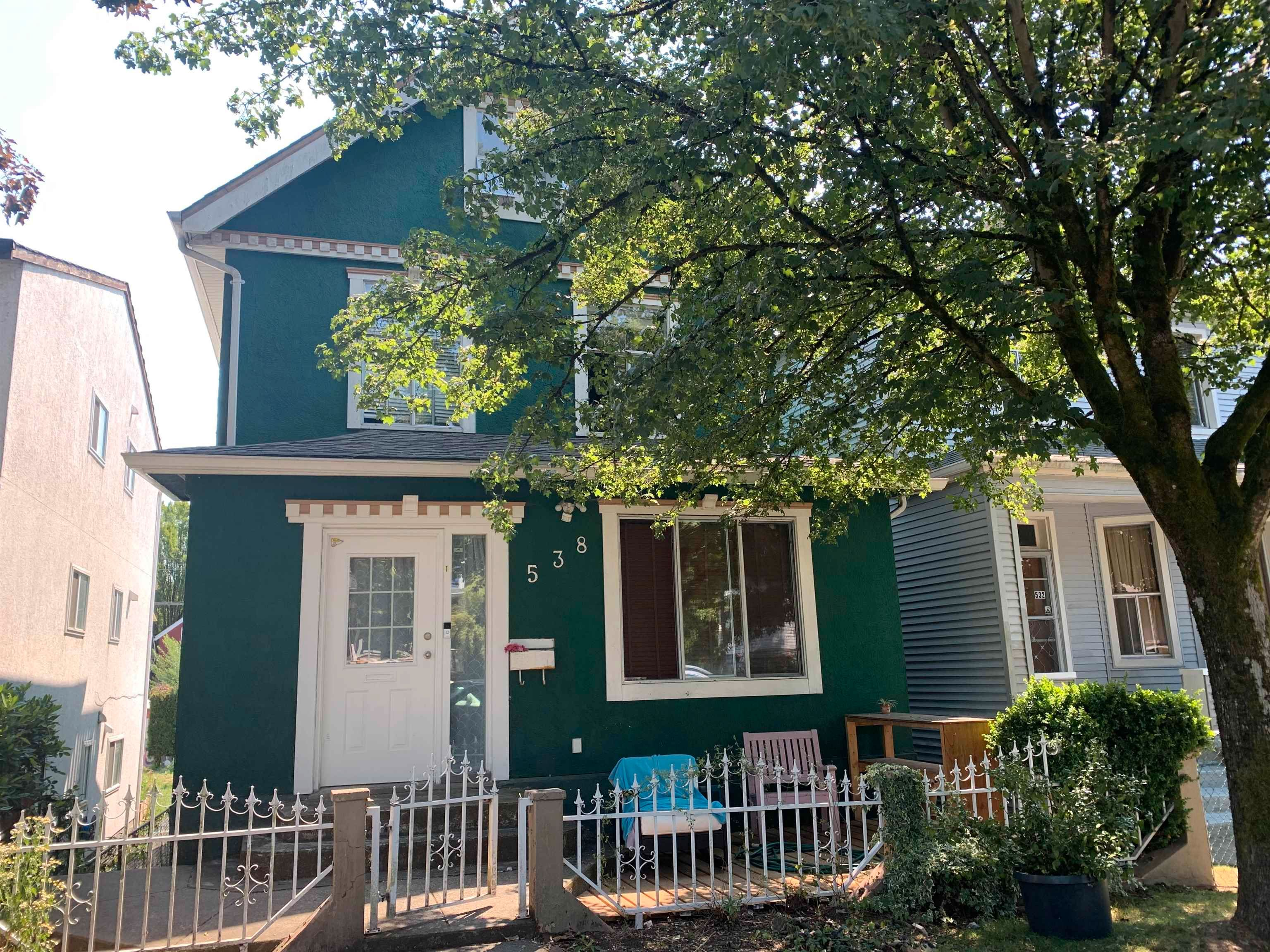 Main Photo: 538 UNION Street in Vancouver: Strathcona Fourplex for sale (Vancouver East)  : MLS®# R2612807