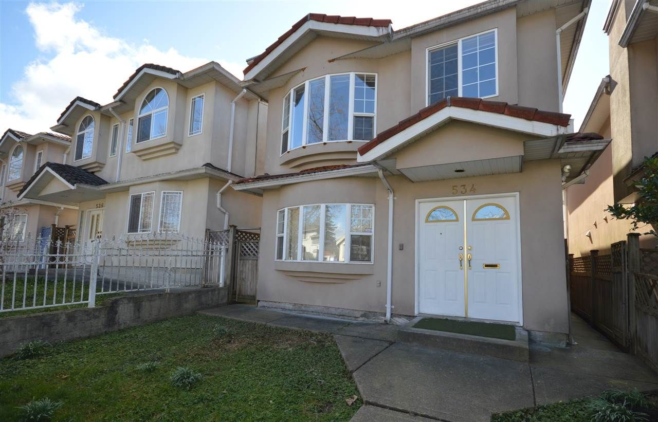 Main Photo: 534 E 17TH Avenue in Vancouver: Fraser VE House for sale (Vancouver East)  : MLS®# R2552713