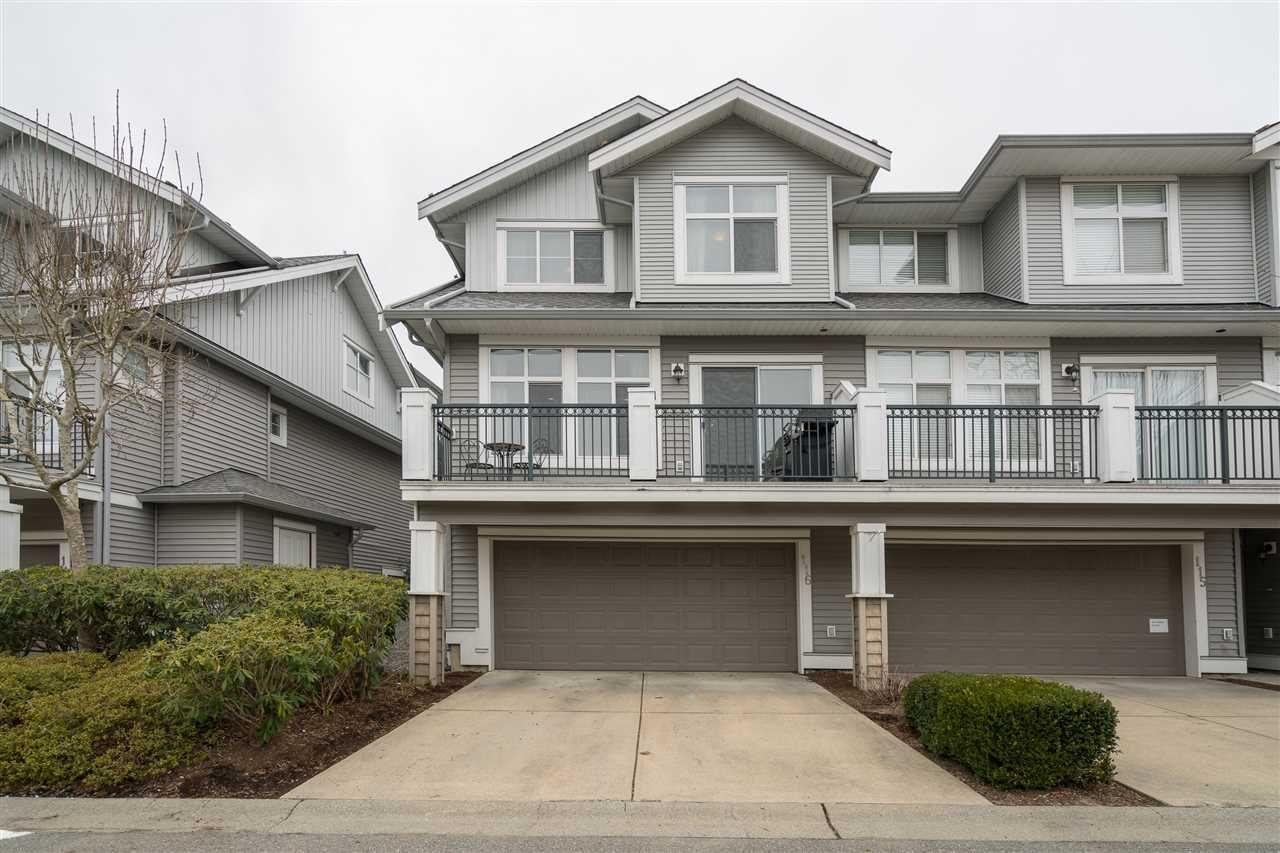 "Main Photo: 116 20449 66 Avenue in Langley: Willoughby Heights Townhouse for sale in ""Nature's Landing"" : MLS®# R2348653"