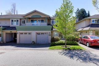 "Photo 1: 159 13888 70 Avenue in Surrey: East Newton Townhouse for sale in ""Chelsea Gardens"" : MLS®# R2567687"