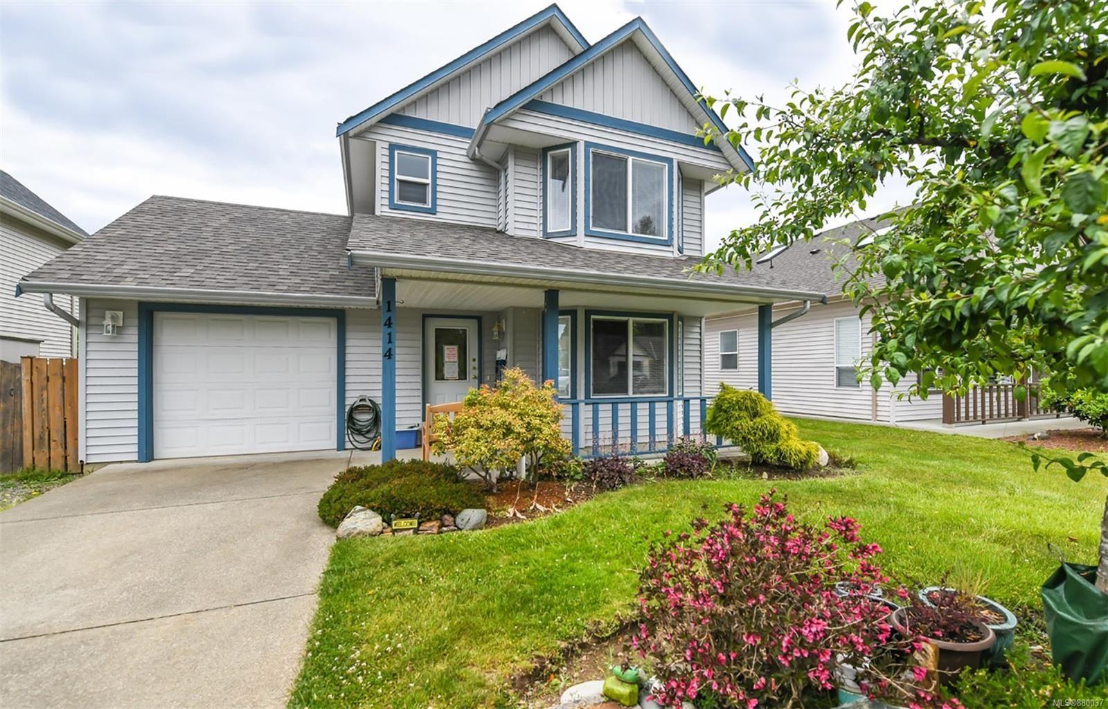Main Photo: 1414 Krebs Cres in : CV Courtenay City House for sale (Comox Valley)  : MLS®# 880037