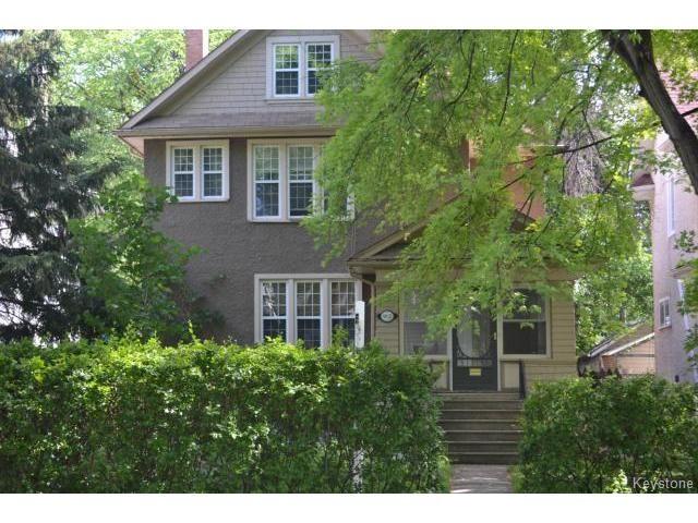 Main Photo: 962 Grosvenor Avenue in WINNIPEG: Manitoba Other Residential for sale : MLS®# 1409410