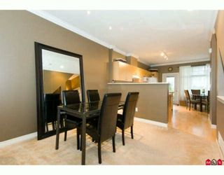 """Photo 4: 8 18828 69TH Avenue in Surrey: Clayton Townhouse for sale in """"STARPOINT"""" (Cloverdale)  : MLS®# F2925562"""