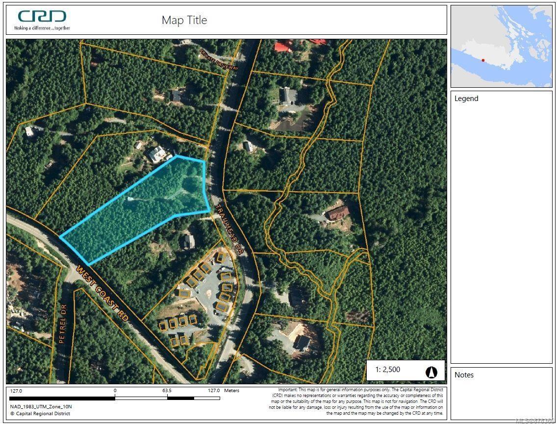 Main Photo: LOT 3 Trailhead Dr in : Sk Jordan River Land for sale (Sooke)  : MLS®# 878366