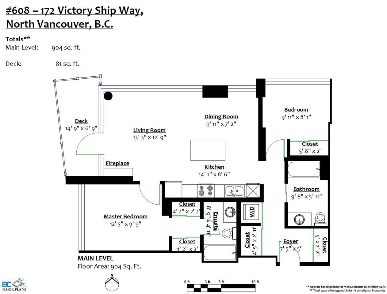 """Photo 19: Photos: 608 172 VICTORY SHIP Way in North Vancouver: Lower Lonsdale Condo for sale in """"Atrium at the Pier"""" : MLS®# R2454404"""