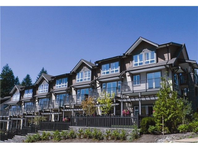"""Main Photo: 116 1480 SOUTHVIEW Street in Coquitlam: Burke Mountain Townhouse for sale in """"CEDAR CREEK"""" : MLS®# V1011702"""