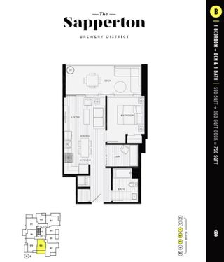 """Photo 24: 708 200 NELSON'S Crescent in New Westminster: Sapperton Condo for sale in """"THE SAPPERTON"""" : MLS®# R2473806"""
