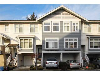 Photo 1: 11 7533 HEATHER Street in Richmond: McLennan North Townhouse for sale : MLS®# V864300