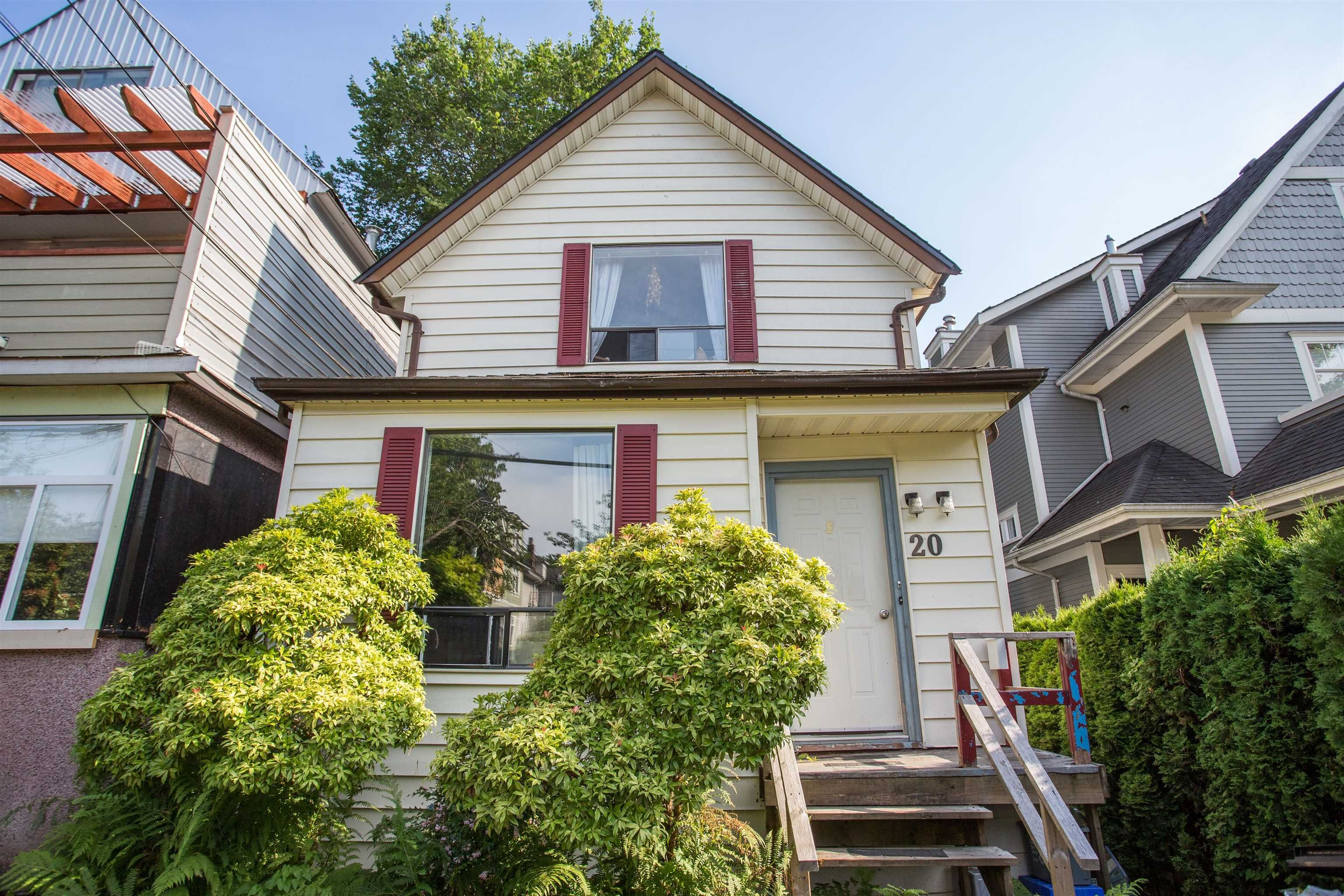 """Main Photo: 20 W 14TH Avenue in Vancouver: Mount Pleasant VW House for sale in """"CITY HALL"""" (Vancouver West)  : MLS®# R2615615"""