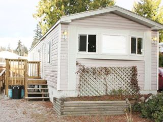 Photo 1: 17 5575 MASON Road in Sechelt: Sechelt District Manufactured Home for sale (Sunshine Coast)  : MLS®# V1038390