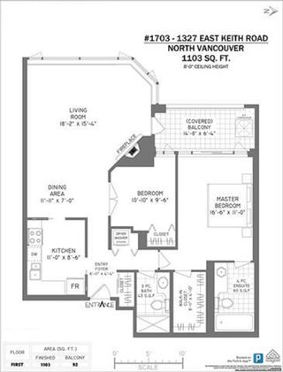 """Photo 29: 1703 1327 E KEITH Road in North Vancouver: Lynnmour Condo for sale in """"The Carlton at the Club"""" : MLS®# R2573977"""