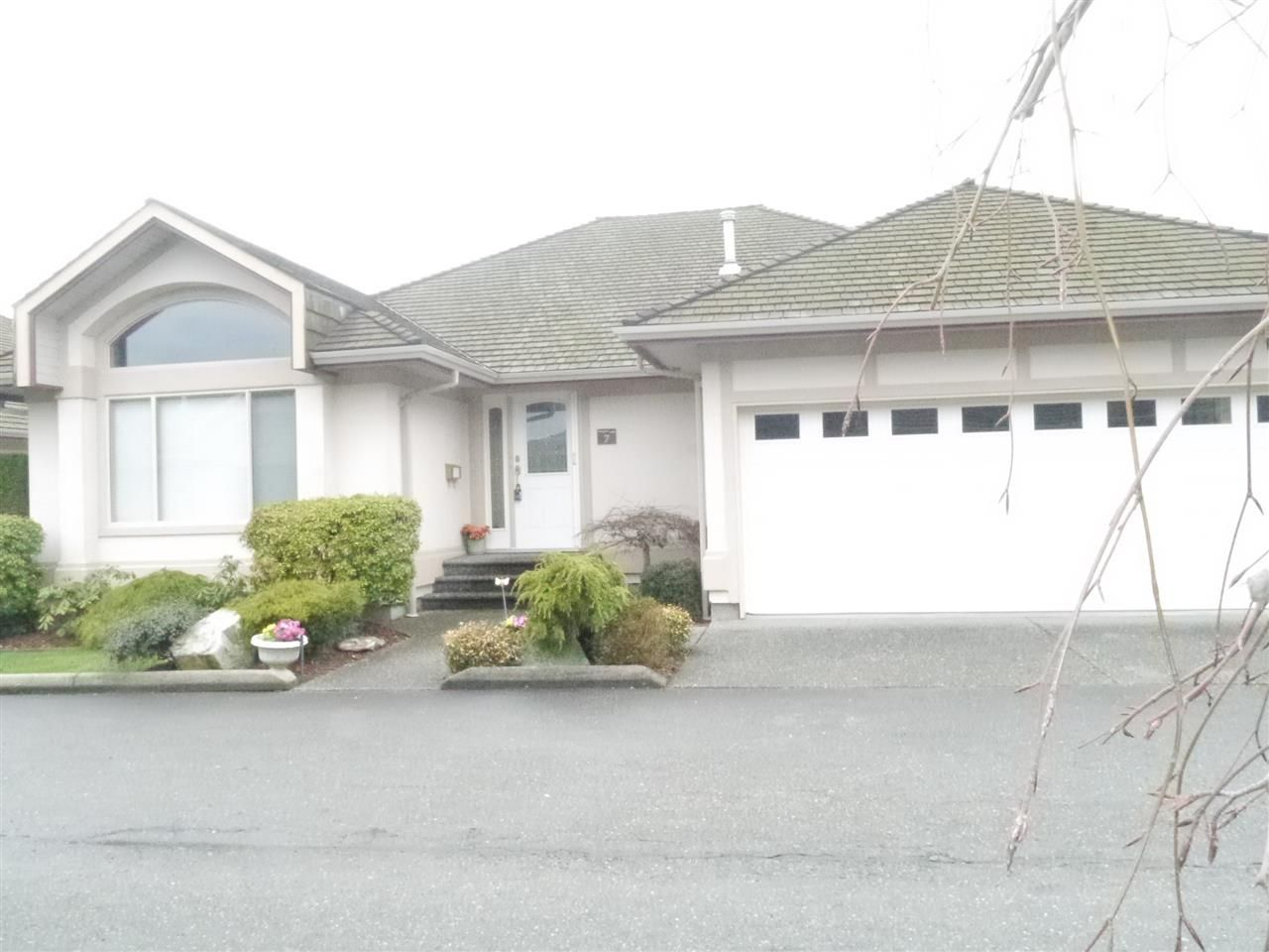 Main Photo: 7 30703 BLUERIDGE DRIVE in : Abbotsford West Townhouse for sale : MLS®# R2148644
